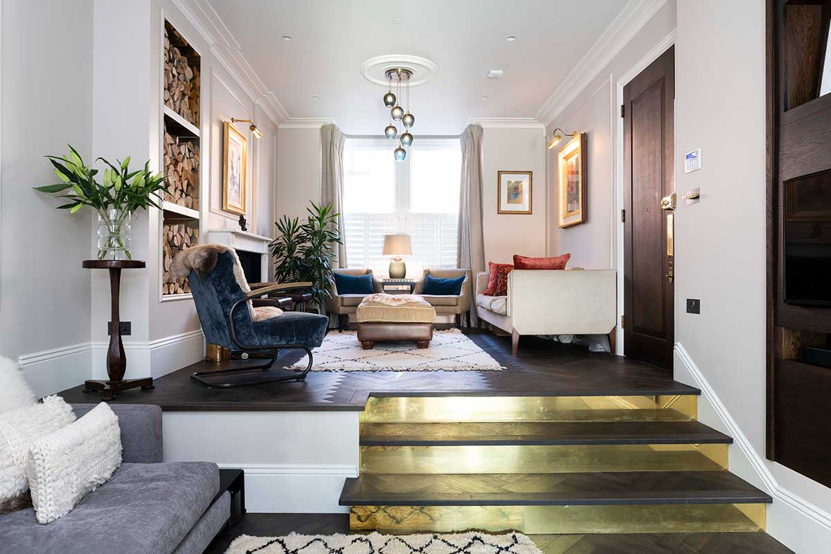 Eclectic project in Fulham